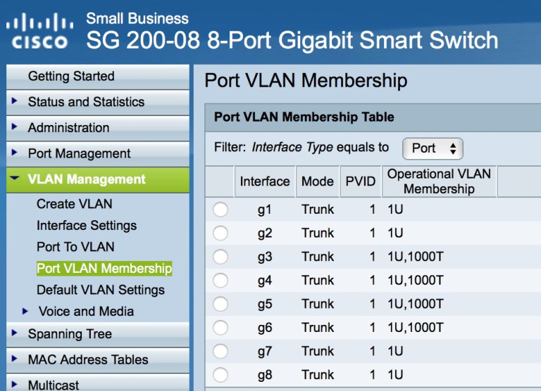 VLAN 1000 Assignment